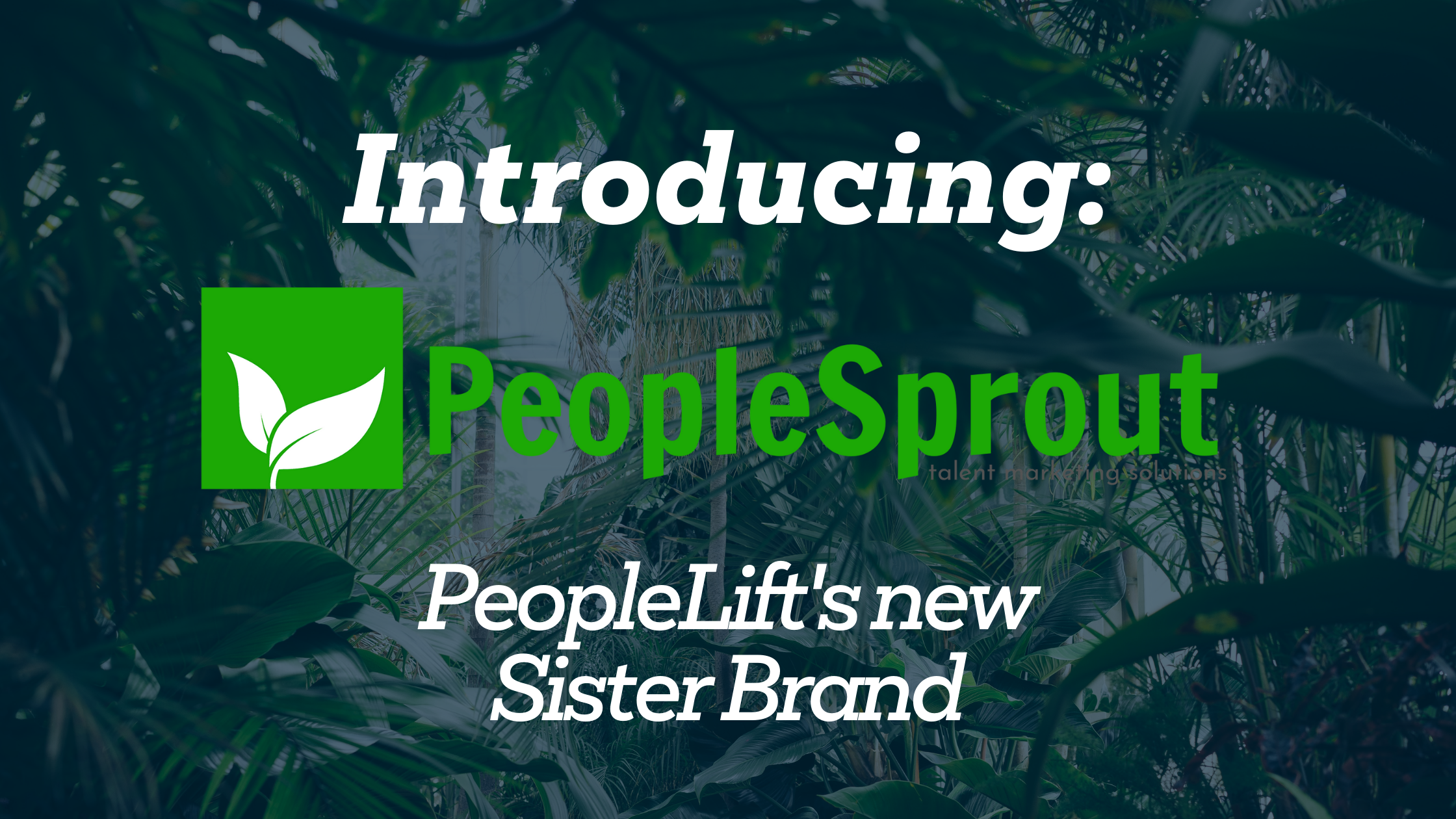 Introducing PeopleSprout